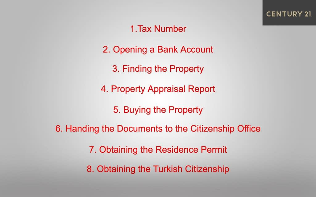 turkish citizenship by investment process